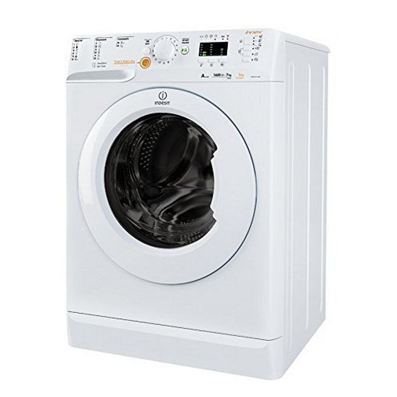 Indesit XWDA 751680X W EU Lavasecadora de Carga Frontal 7Kg/5Kg A Blanca