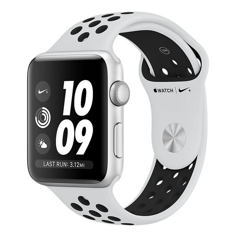 df0c96533ae02 Apple Watch Series 3 Nike+ 38mm Smartwatch Plata