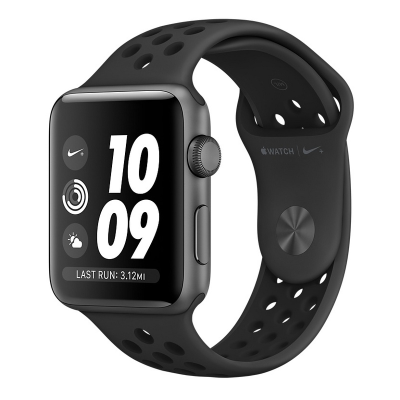 e5e4c45533f2 Apple Watch Series 3 Nike+ 42mm Smartwatch Gris Espacial
