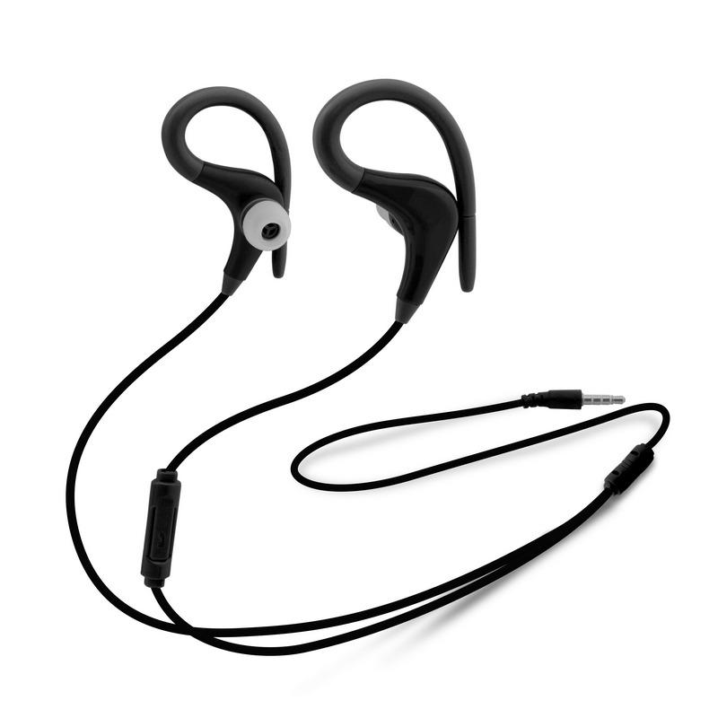 Unotec Max-Running Auriculares Deportivos Negros
