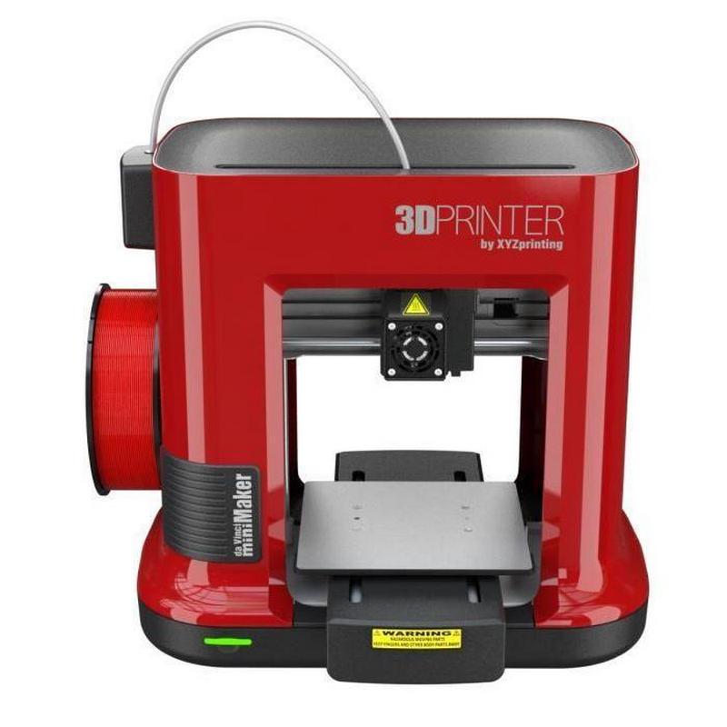 xyzprinting da vinci minimaker impresora 3d rojo. Black Bedroom Furniture Sets. Home Design Ideas