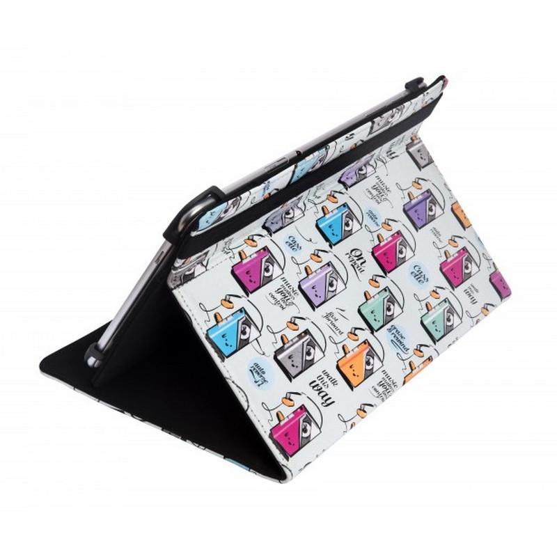 Silverht funda universal estampada 80s cassette para tablet 9 10 1 - Funda universal tablet 10 1 ...