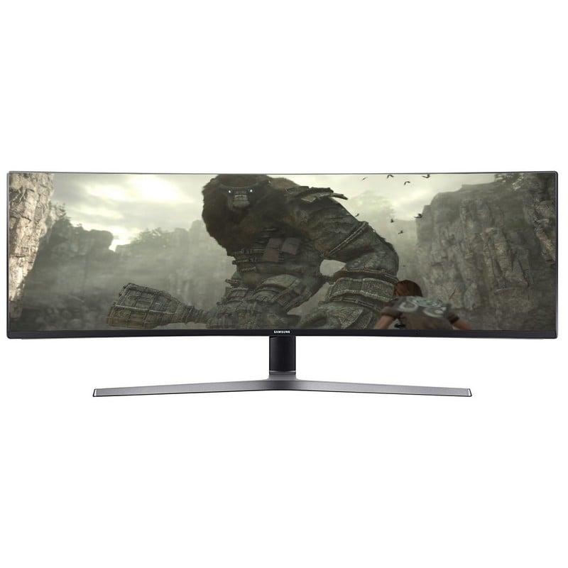 "Monitor Samsung LC49HG90DMU 49"" QLED VA FullHD Curvo"