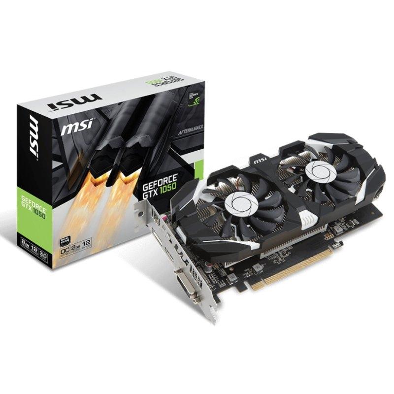 MSI GeForce GTX 1050 2GT Dual Fan OC V1 2GB GDDR5