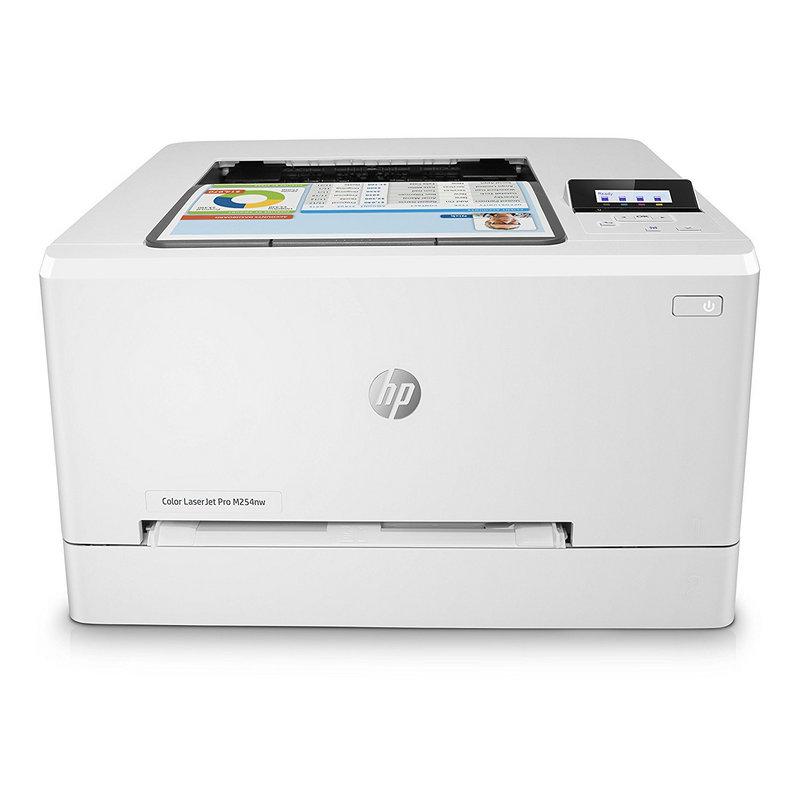 HP LaserJet Pro M254nw Impresora Láser Color Wifi Blanca