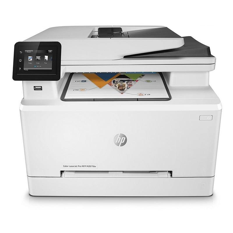 Hp Laserjet Pro Mfp M281fdw Multifunci 243 N L 225 Ser Color