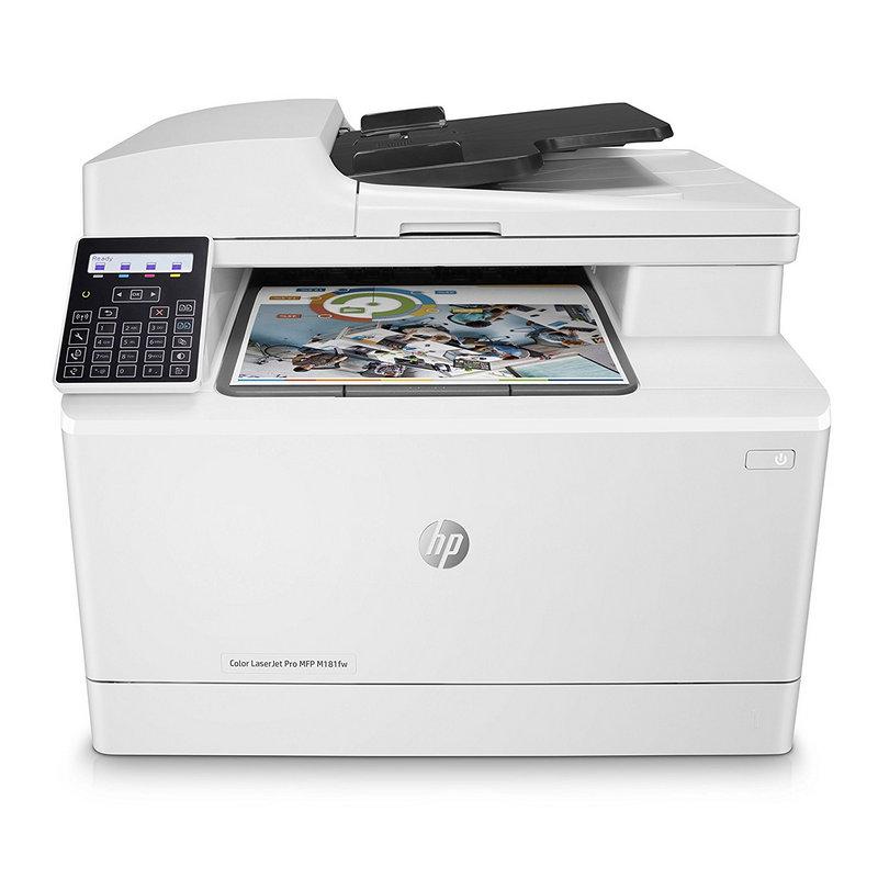 HP LaserJet Pro M181fw Multifunción Láser Color Wifi Fax