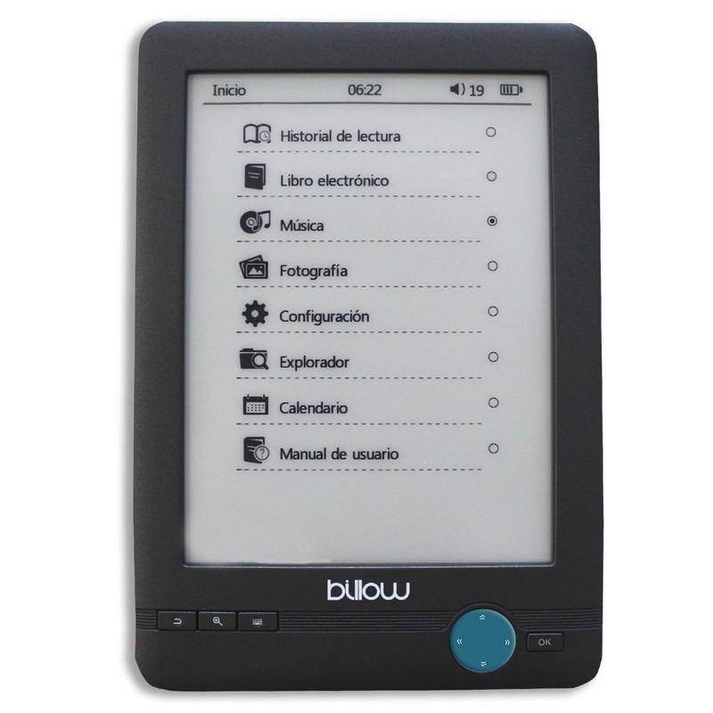 billow e03t 4gb e-reader 6tactil