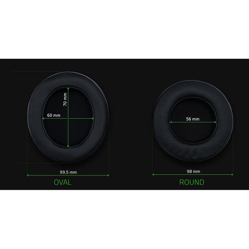 Razer Kraken Pro V2 Oval Auriculares Gaming Negro