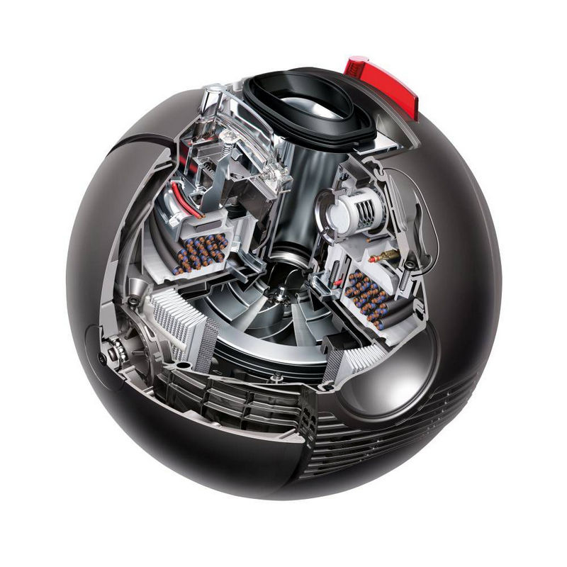 dyson ball multifloor extra aspirador sem saco 600w. Black Bedroom Furniture Sets. Home Design Ideas