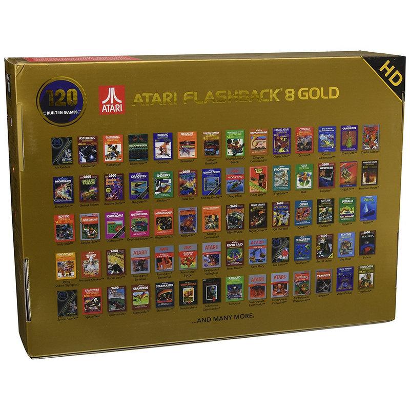 Atari Flashback 8 Gold Hd Consola Retro