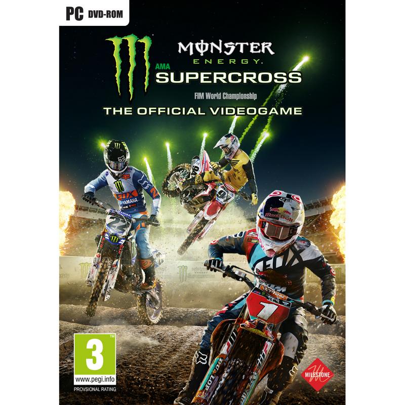 Resultado de imagem para Monster Energy Supercross CAPA