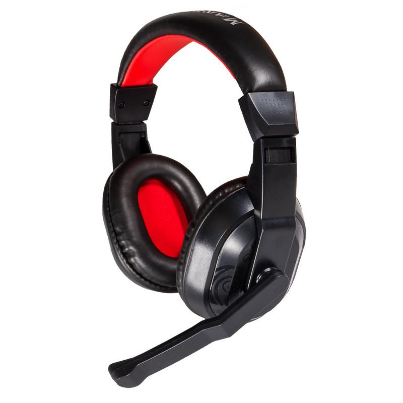Mars Gaming MRH0 Auriculares Gaming con Micrófono Negro