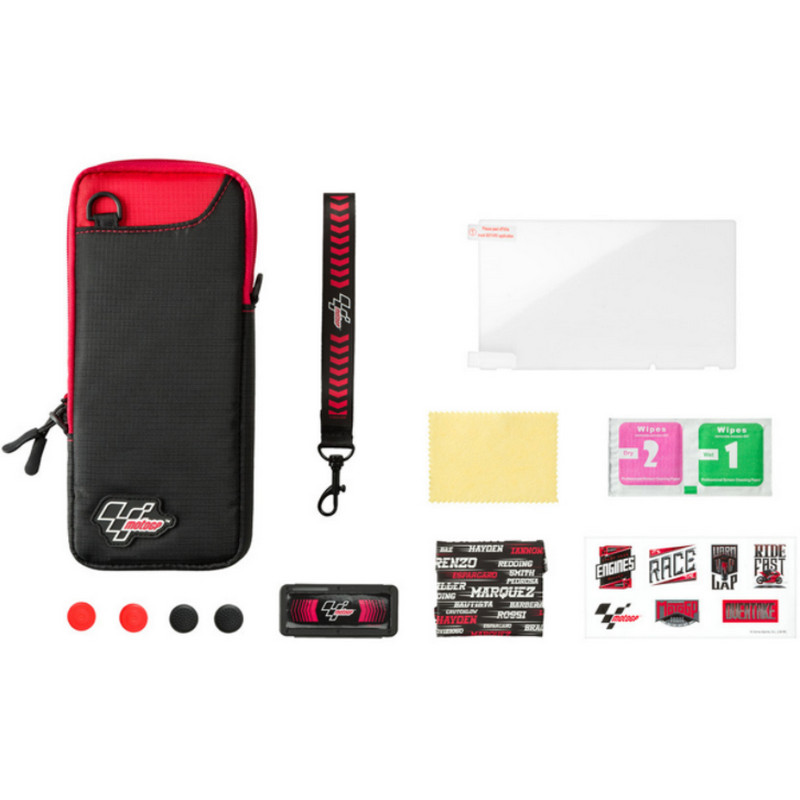 Indeca Kit 10 en 1 Moto GP 2018 para Nintendo Switch