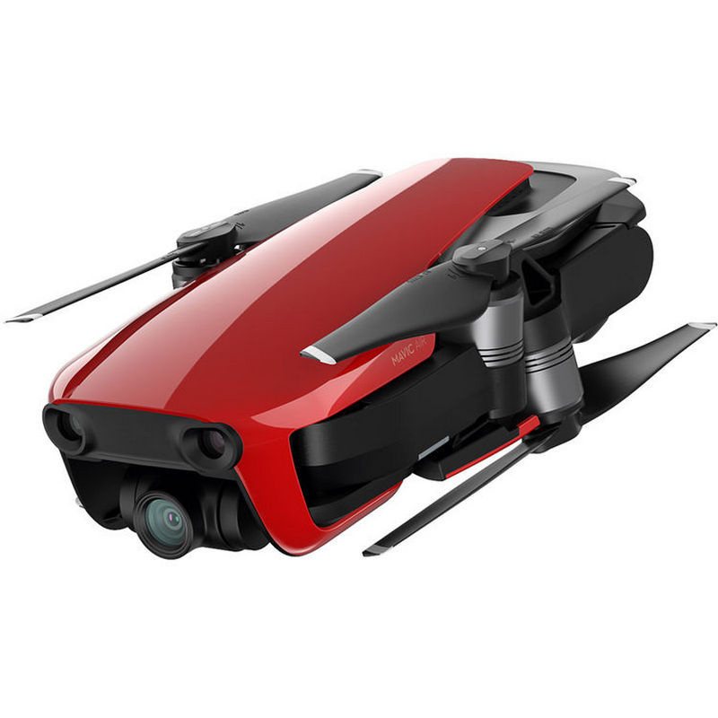 drone dji mavic air combo vermelho. Black Bedroom Furniture Sets. Home Design Ideas