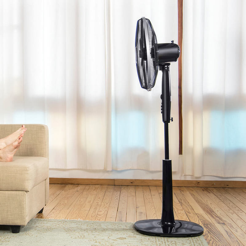 ForceSilence 1020 ExtremeFlow Ventilador de Pie Silencioso y