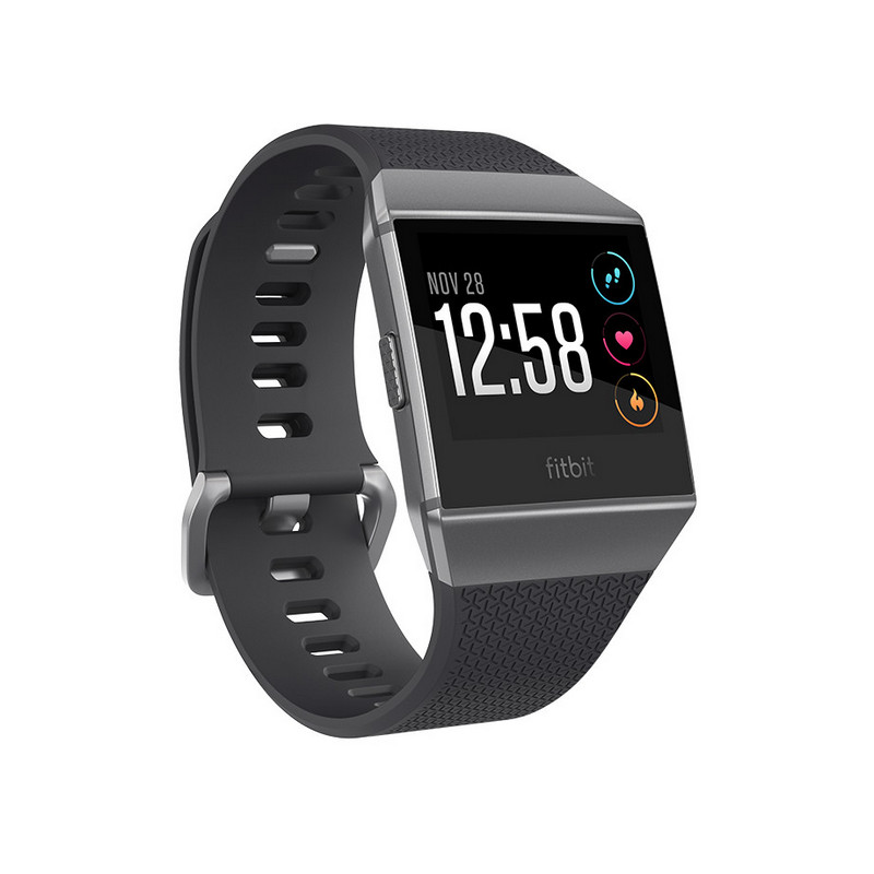 Fitbit Ionic Smartwatch Gris/Negro