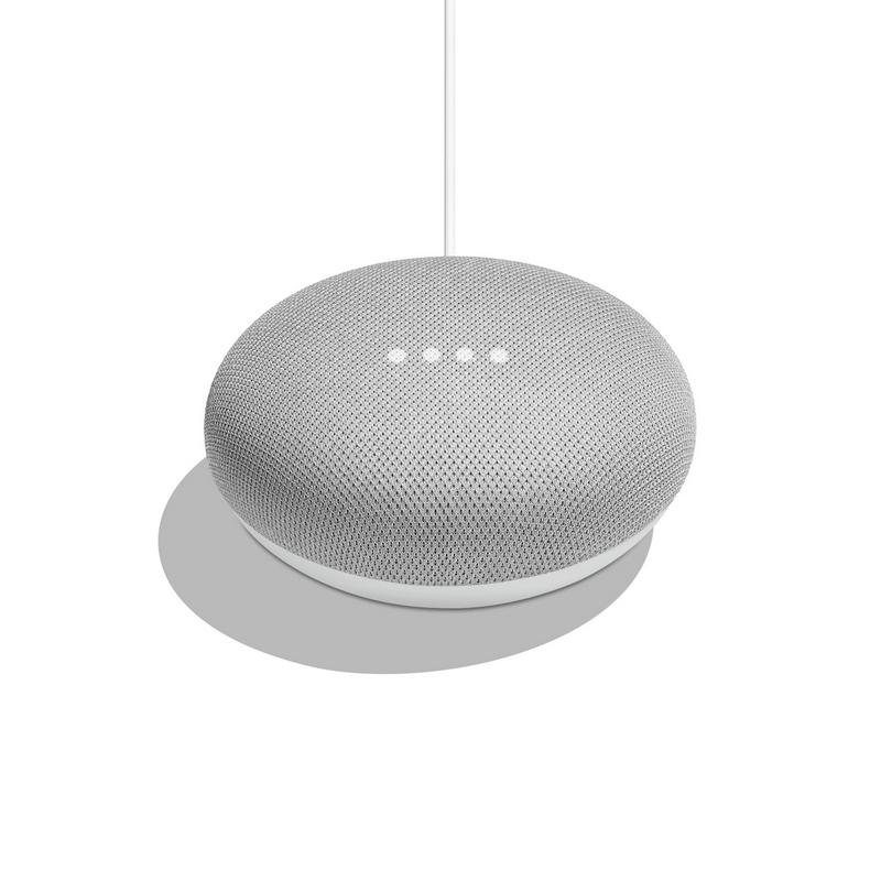 Google Home Mini Altavoz Inteligente y Asistente Gris 6669e0264da4
