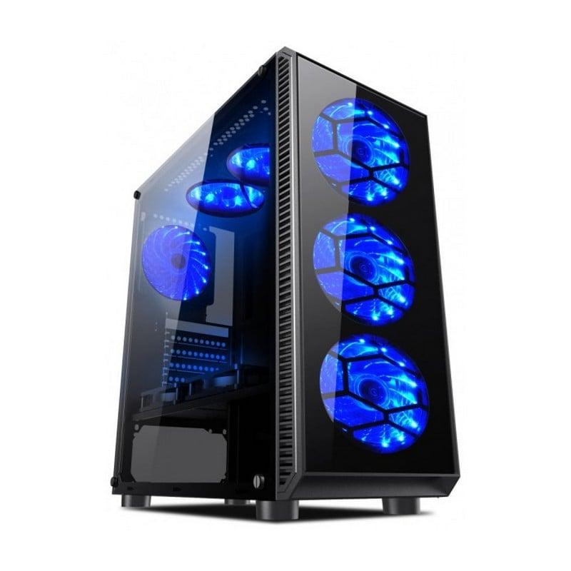 L-Link Avatar USB 3.0 Con Ventana LED Azul