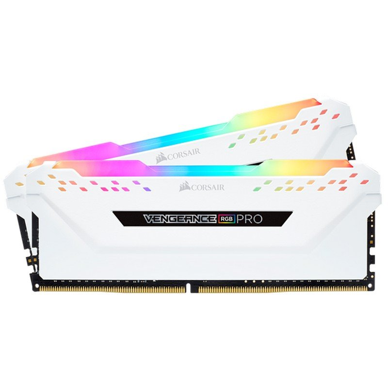 Corsair Vengeance RGB Pro DDR4 3200 PC4-25600 16GB 2x8GB CL16 Blanco