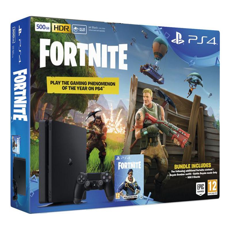 Sony Playstation 4 Slim 500gb Fornite
