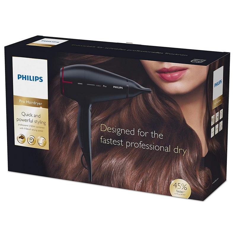 Philips HPS910 00 Secador de Cabelo 2100W 79011ecbd060