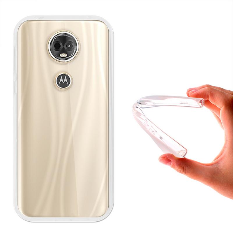 aec184ed1fc German Tech Funda Gel Basic Transparente para Motorola Moto E5 Plus