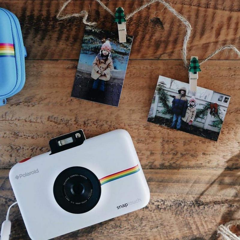 8e87e01a83 Polaroid Snap Touch Cámara Digital con Impresión Instantánea Blanco
