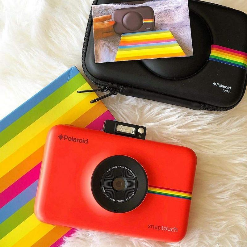 eb9daa9e9a Polaroid Snap Touch Cámara Digital con Impresión Instantánea Rojo