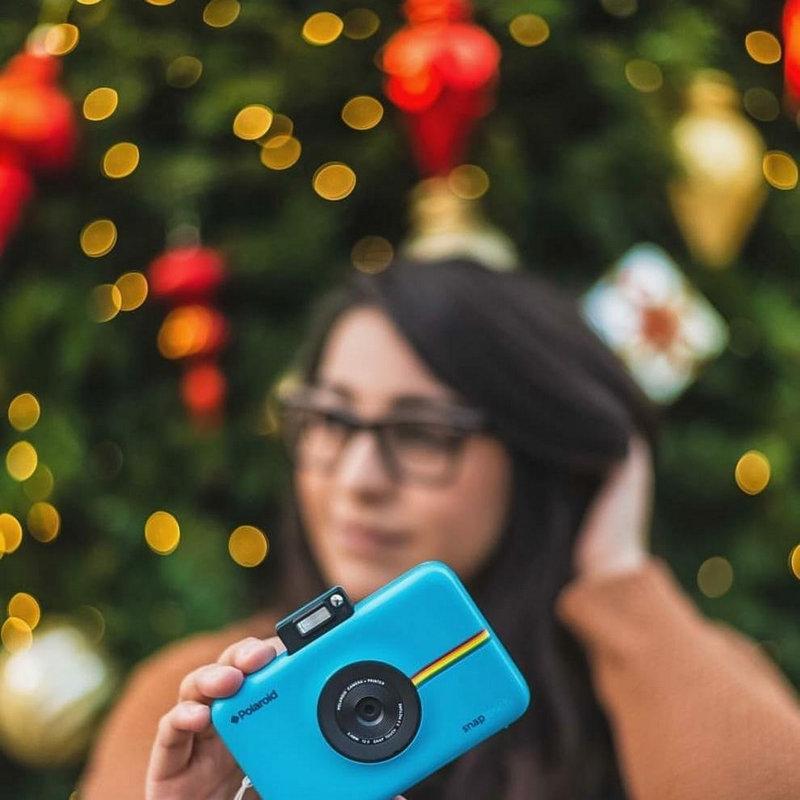 99abe399f7c1c Polaroid Snap Touch Câmara Digital com Impressão Instantânea Azul