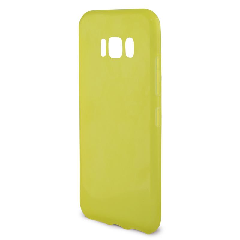Ksix Flex Sense Funda Amarilla con Aroma Limón para Galaxy S8