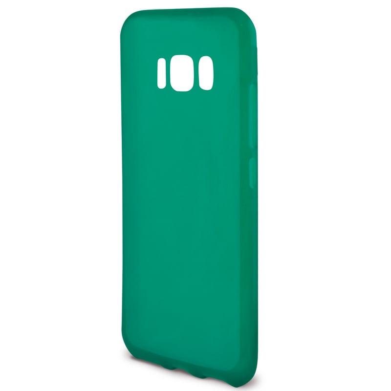 Ksix Flex Sense Funda Verde con Aroma Manzana para Galaxy S8 Plus