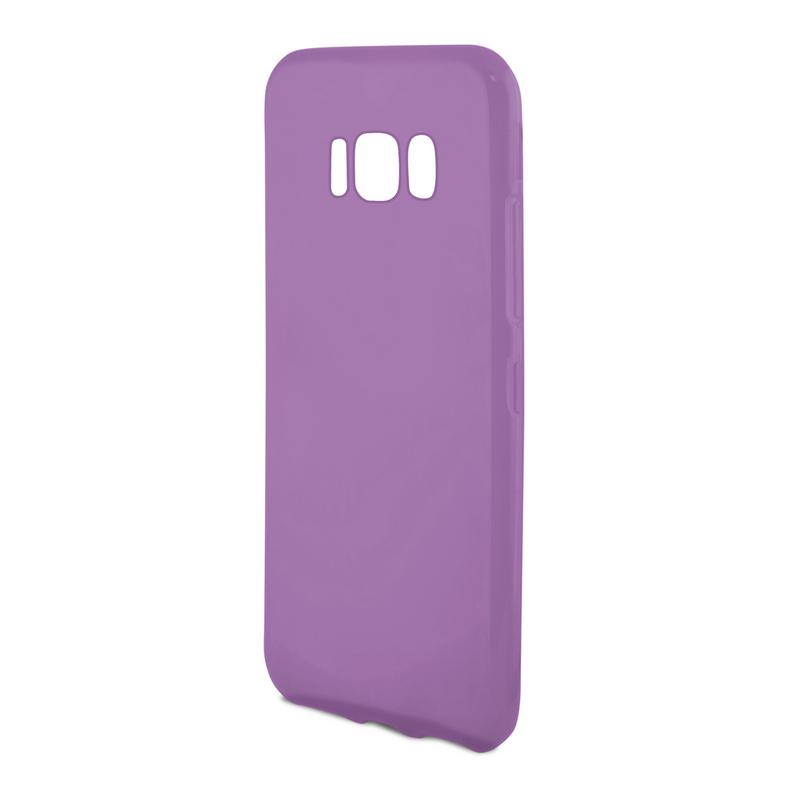 Ksix Flex Sense Funda Violeta con Aroma Muffin para Galaxy S8 Plus