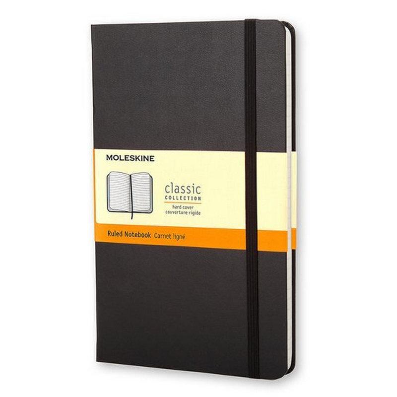 Moleskine Classic A5 Cuaderno 240 Hojas Negro