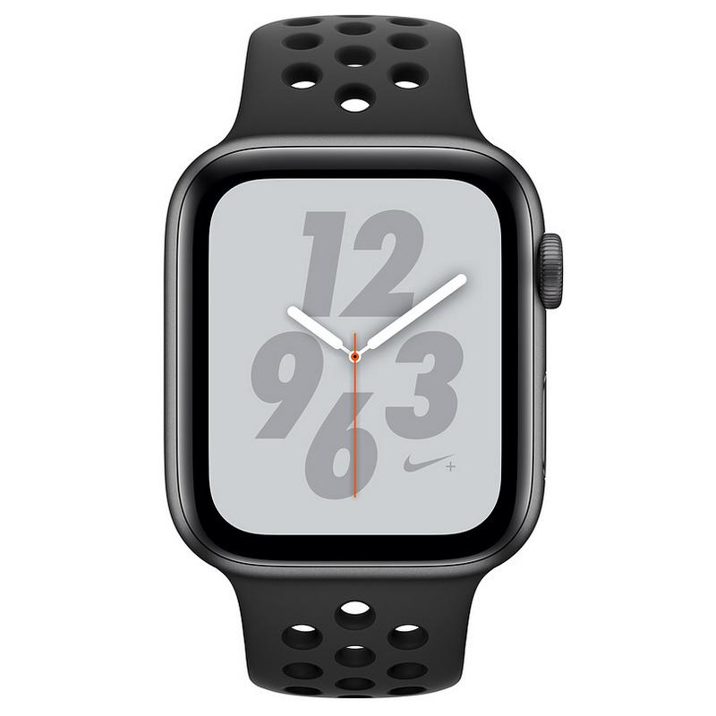 hecho cabina Mediar  Apple Watch Nike+ Series 4 GPS 44mm Aluminio Gris Espacial con Correa  Deportiva Nike Antracita/Negro | PcComponentes.com
