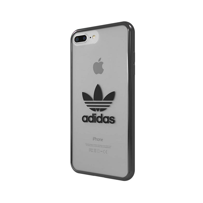 en stock Buenos precios venta en línea Adidas Clear Funda Gris Transparente para Apple iPhone 8 Plus/7 ...