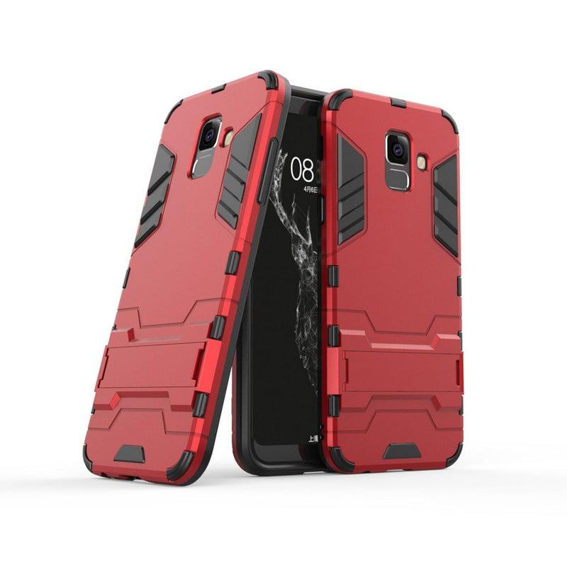 nuevo estilo y lujo rendimiento superior Página web oficial German Tech Funda Cool Shield Roja para Samsung Galaxy A6 ...