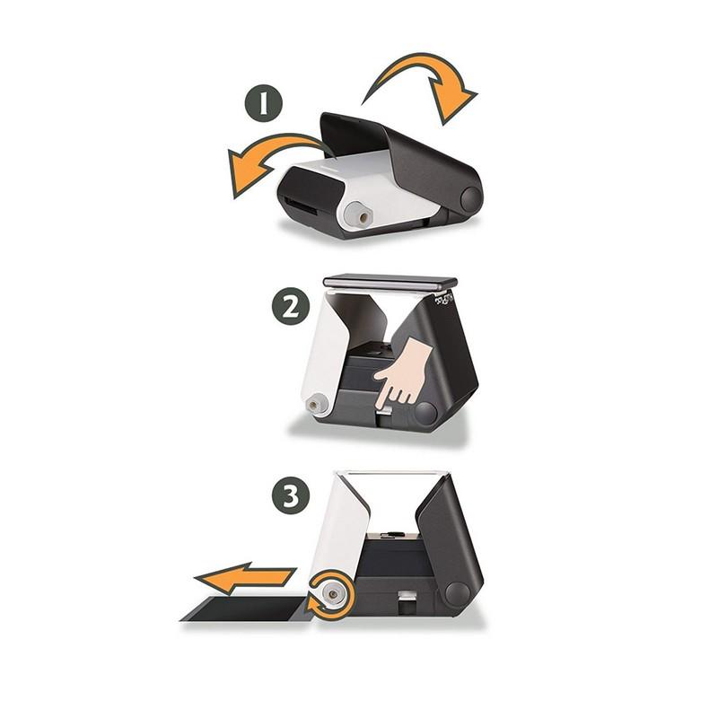 Kiipix Impresora Fotográfica Inalámbrica Negra Para Smartphone Pccomponentes Com