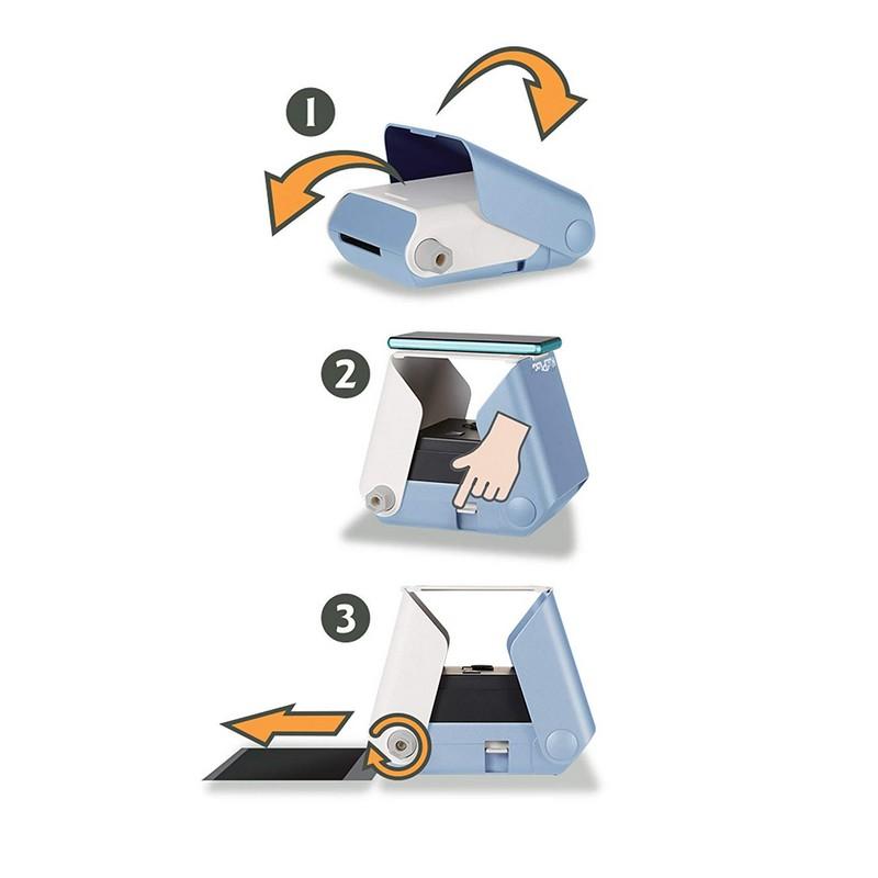 Kiipix Impresora Fotográfica Inalámbrica Azul Para Smartphone Pccomponentes Com