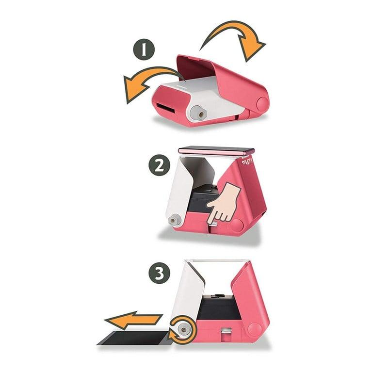 Kiipix Impresora Fotográfica Inalámbrica Rosa Para Smartphone Pccomponentes Com