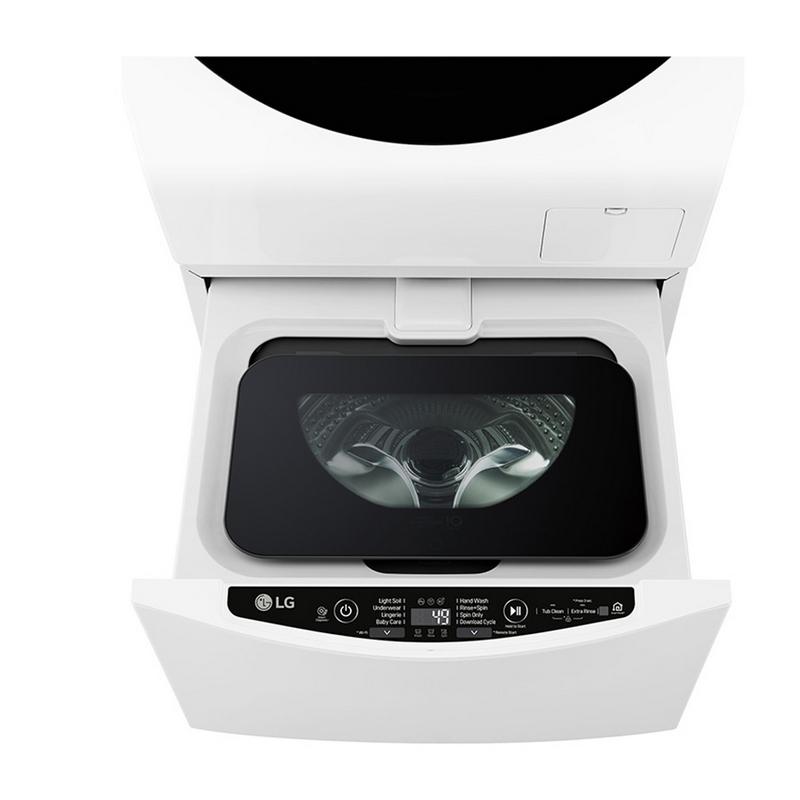 LG F8K5XN3 TWINWash Mini Lavadora Mini con Wi-Fi 2Kg Blanco