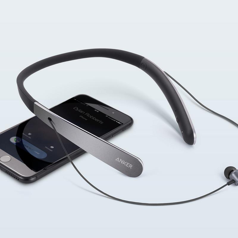 Anker SoundBuds Life Auriculares Inalámbricos NegroGris  dnKcc