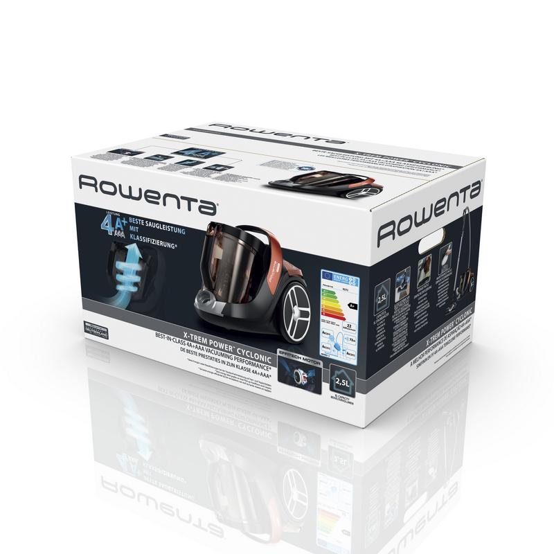 Rowenta X-Trem Power Cyclonic Aspirador sin Bolsa 4A+ 550W c85cd00a946