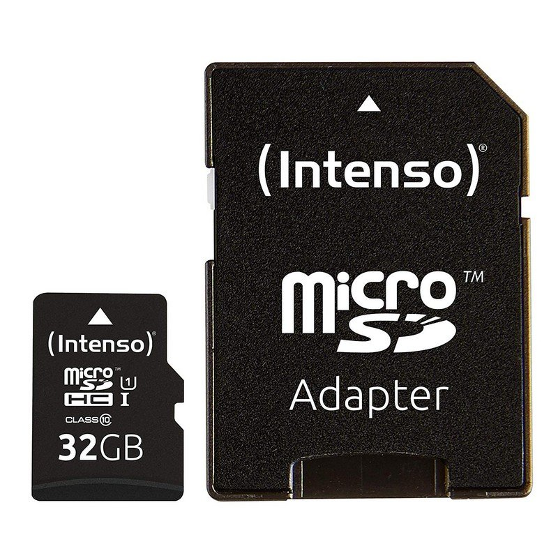 Intenso Tarjeta Micro SD SDHC 32GB Clase 10