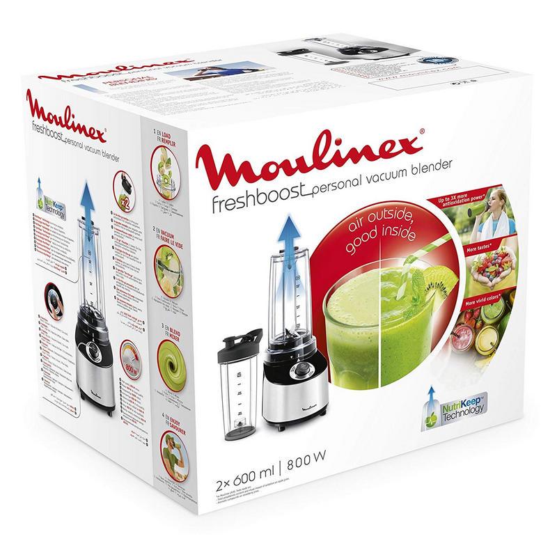 Moulinex LM180110 Batidora vaso personal con potencia 800 W