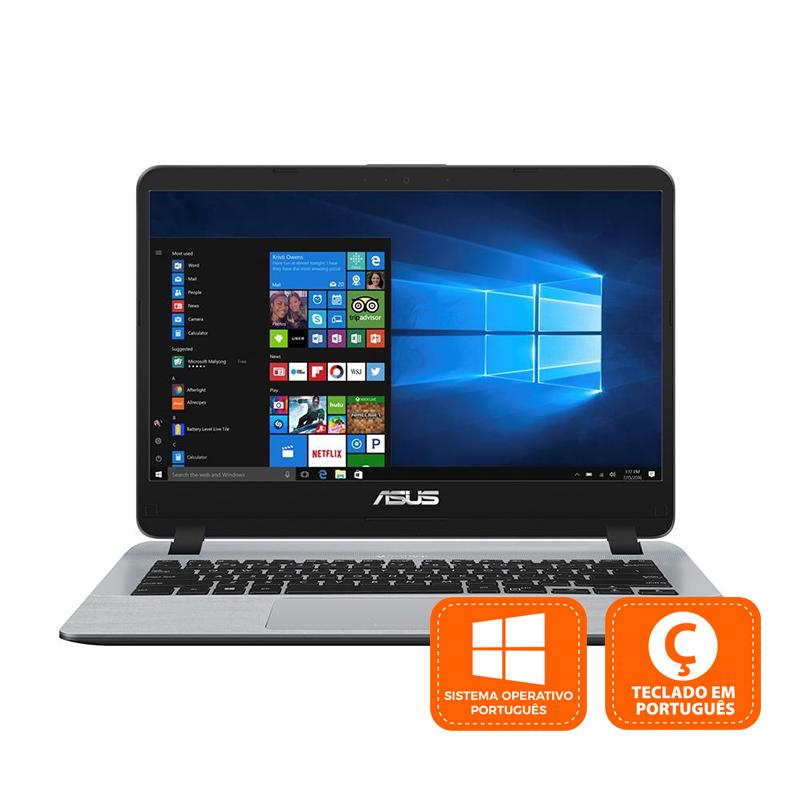 "Asus A407UB-36BM1SB1 Intel Core i3-6006U/4GB/128GB SSD/MX110/14"""