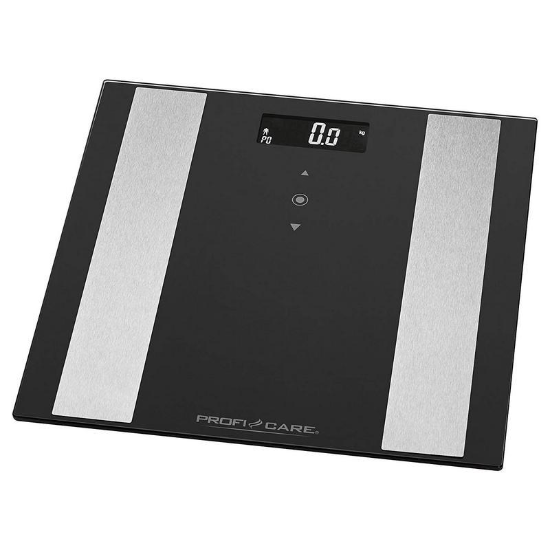 ProfiCare PW 3007 Báscula de Baño Digital con Análisis Corporal Negro