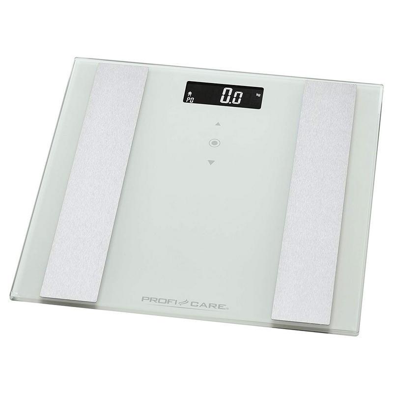 ProfiCare PW 3007 Báscula de Baño Digital con Análisis Corporal Blanco