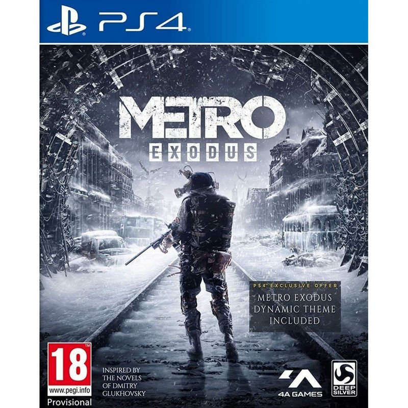 Metro Exodus Day One Edition PS4