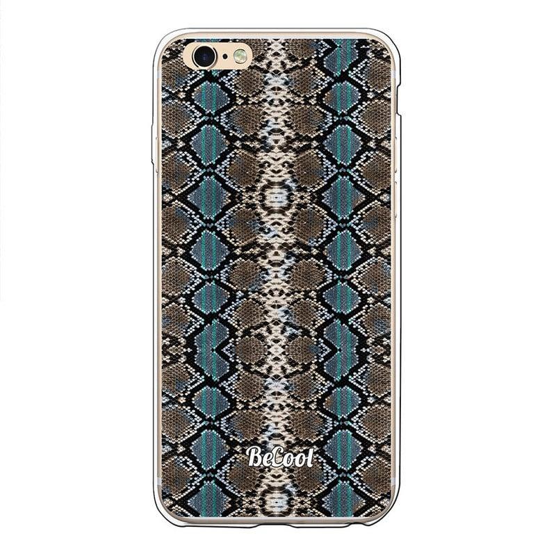 4d9d4f25bda BeCool Animal Print Funda Gel Serpiente Dos Colores para iPhone 6 Plus - 6S  Plus